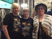 Helen Askey, Norma Loft and Toni Wootton