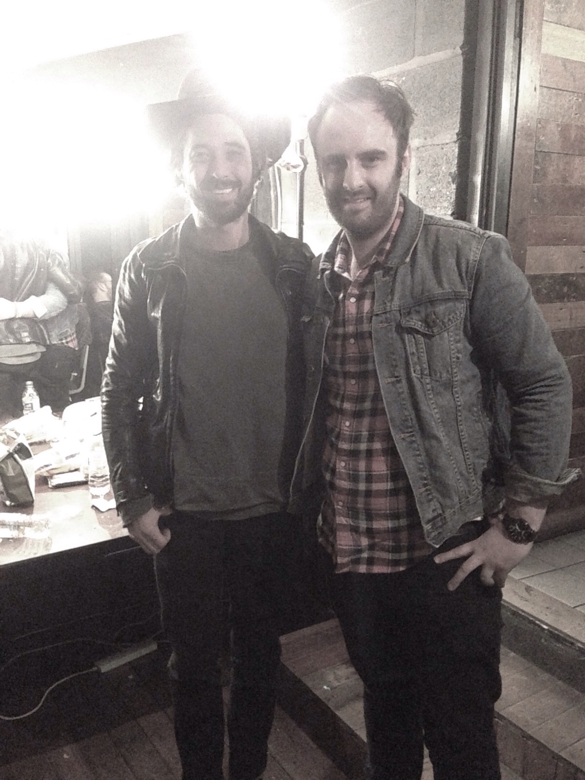 Mark and Ryan Bingham in Manchester 2015