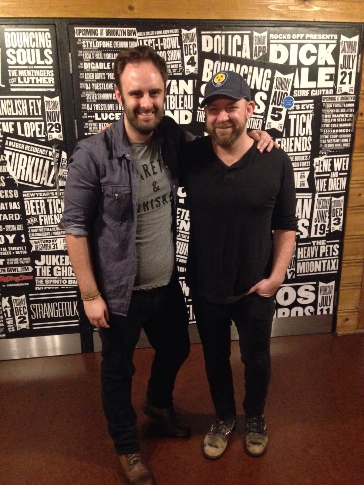 Mark and Kristian Bush in London 2015