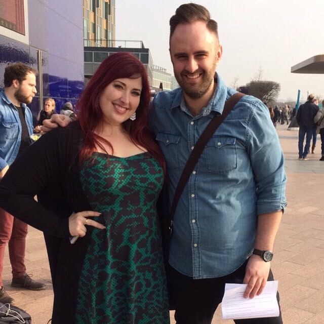 Mark and Jess of Jess & The Bandits @ C2C 2016