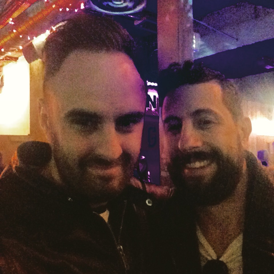 Mark and Old Dominion's Matt Ramsey in London 2016