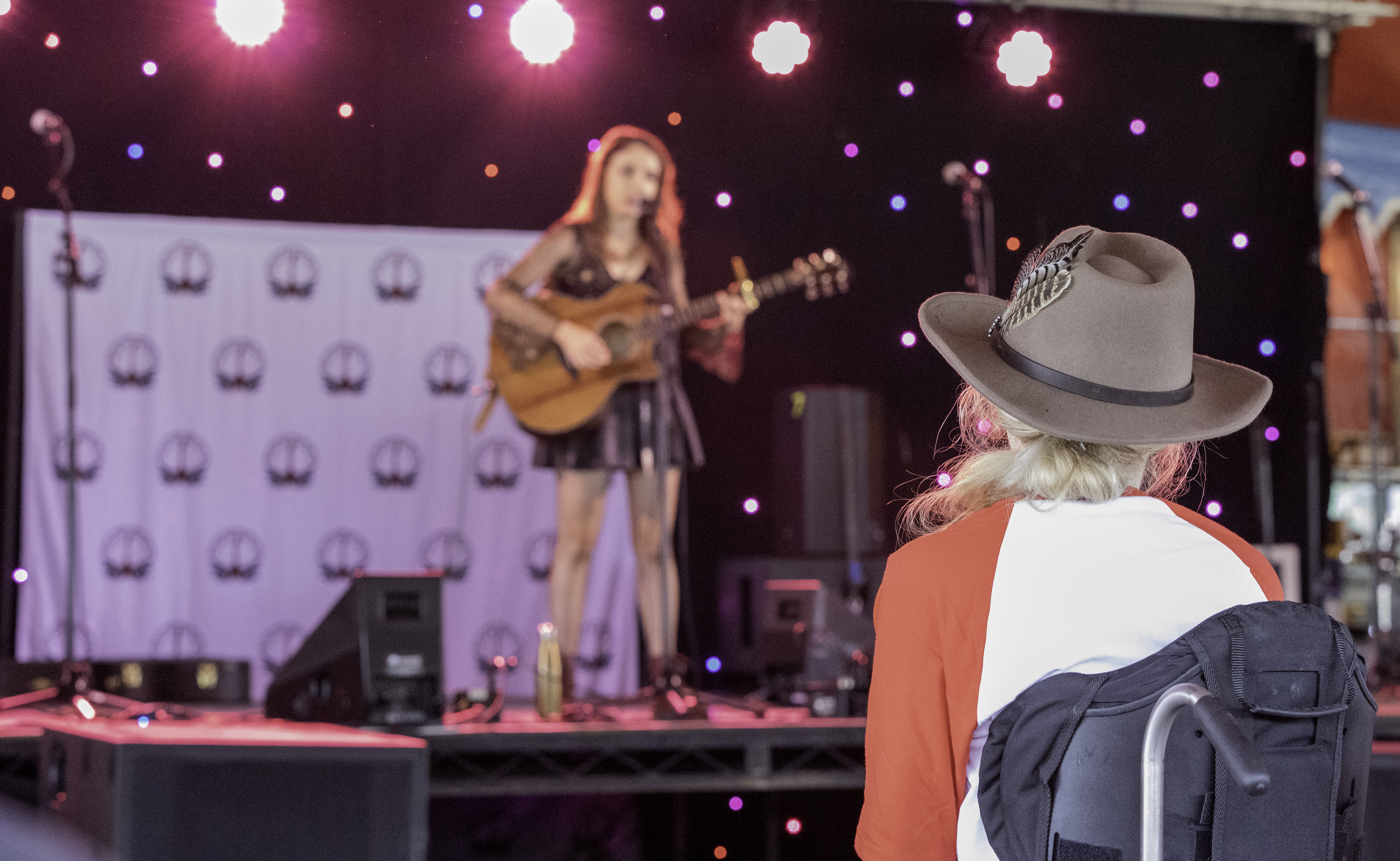 Roisin O'Hagan plays the CountryLine Homegrown Stage at Tennessee Fields Festival 2021