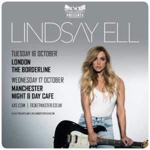 Lindsay Ell UK Tour
