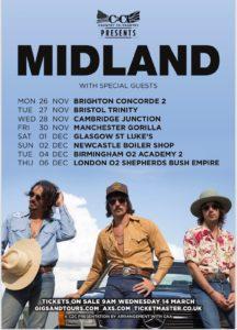 Midland UK Tour