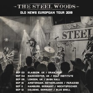 The Steel Woods UK Tour 2019