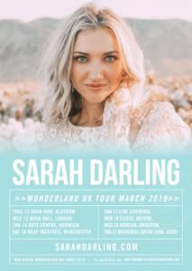 Sarah Darling UK Tour