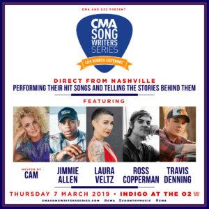 CMA Songwriters Series London