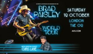 Brad Paisley O2 Arena