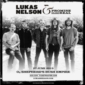 Lukas Nelson UK Tour