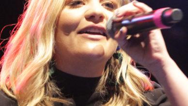 Lauren on stage #1