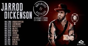 Jarrod Dickenson UK Tour 2019 Fall