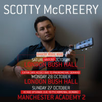 Scotty McCreery – Extra London Date, Plus Manchester Venue Upgraded!