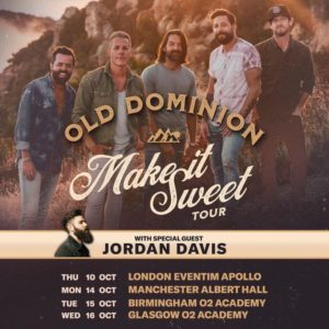Old Dominion UK Tour