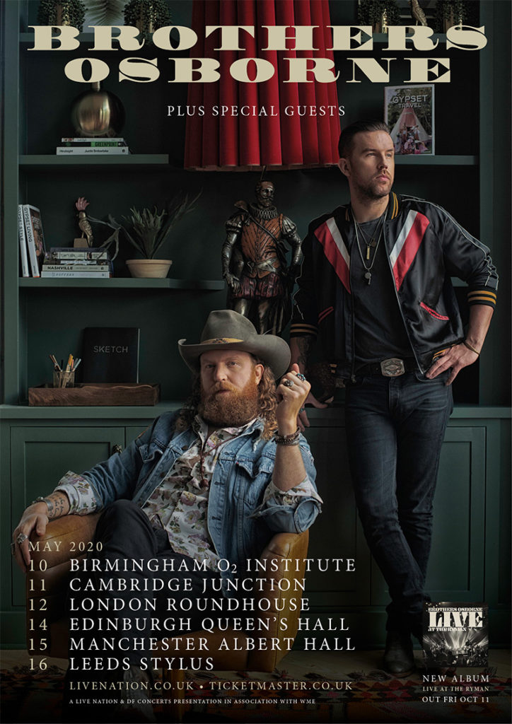 Brothers Osborne Return To The UK