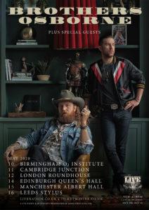 Brothers Osborne UK Tour