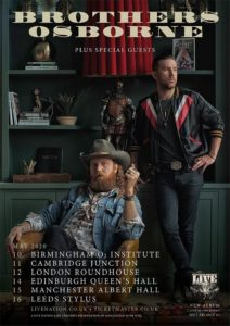 Brothers Osborne UK Tour 2020