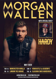 Morgan Wallen UK Tour