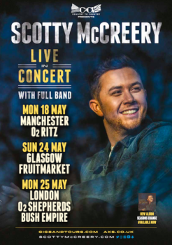 Scotty McCreery UK Tour 2020