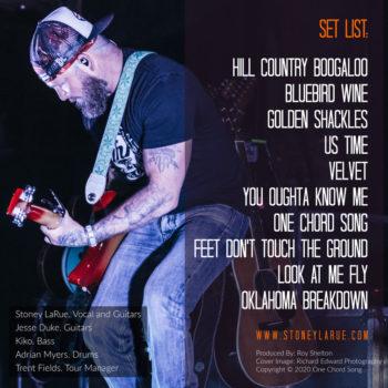 Stoney LaRue Live Album
