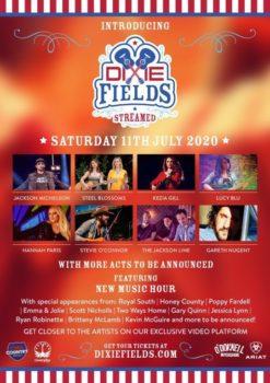 Dixie Fields Streamed